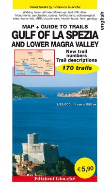 Gulf of La Spezia and Lower Magra Valley - Map